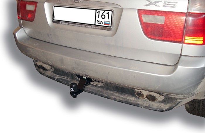 Фаркоп Лидер-Плюс для BMW X5 (E53) 2000-2006