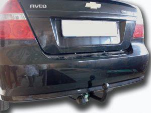 Фаркоп Лидер-Плюс для CHEVROLET AVEO (T250) (седан) 2006-2011