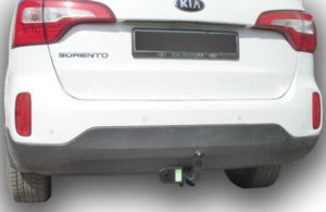 Фаркоп лидер плюс для HYUNDAI SANTA FE (DM) 2012 -…(дизель) (GRAND SF 2014-…)/ KIA SORENTO 4 (XM FL) 2012-2015