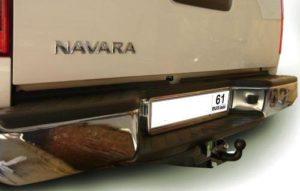 Фаркопы лидер плюс для NISSAN NAVARA Double Cab (D40) (со ступенькой) 2005-…