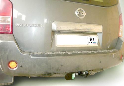 Фаркоп Лидер-плюс N108-F/FC для Nissan Pathfinder 3 (R51) 2004-2014