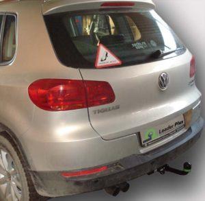 Фаркоп лидер плюс для VW TIGUAN 1/2 2007 -/ JETTA (5K2) 2010 — / SKODA YETI (5L7) 2009 -/KODIAQ 2016-