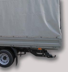 Фаркоп лидер плюс (со съемным шаром) для ГАЗель NEXT 2013 — …. г. в. (бортовая, удлиненная база)
