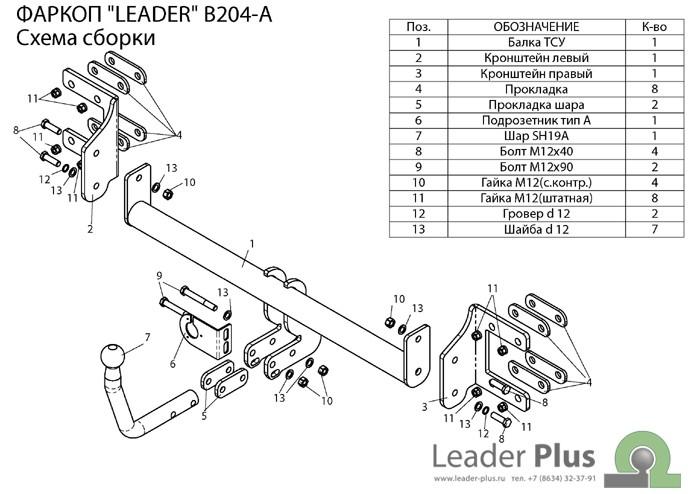 Лидер Плюс B204-A