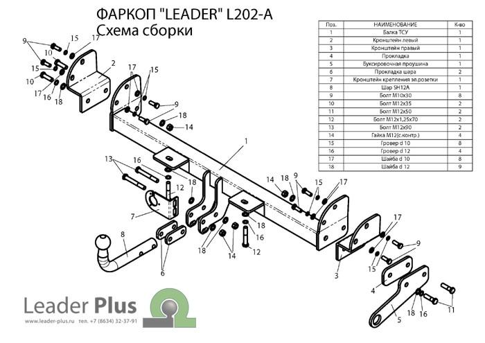 Лидер Плюс L202-A