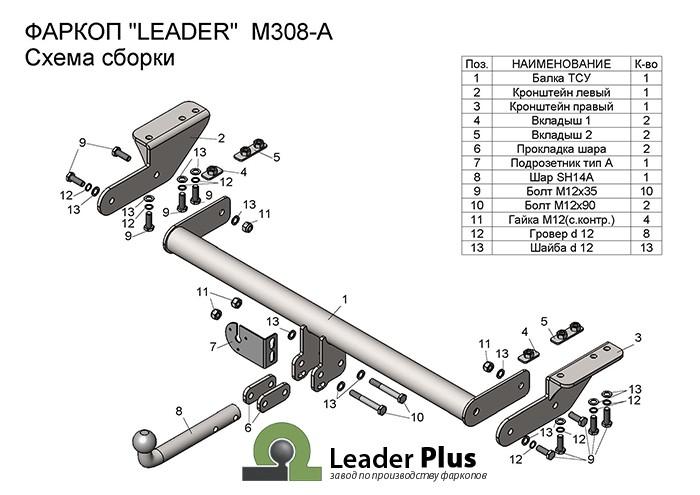 Лидер Плюс M308-A