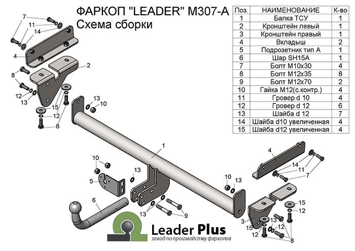 Лидер Плюс M307-A