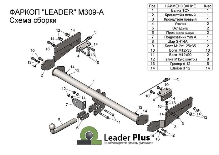 Лидер Плюс M309-A