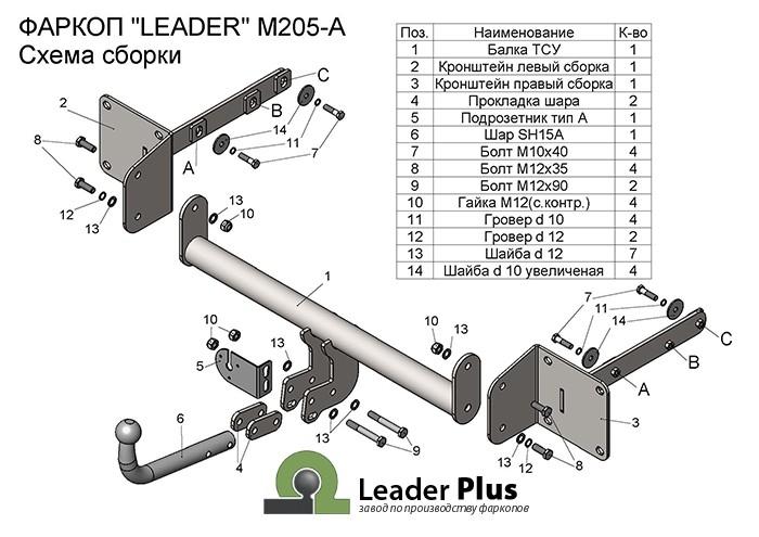 Лидер Плюс M205-A