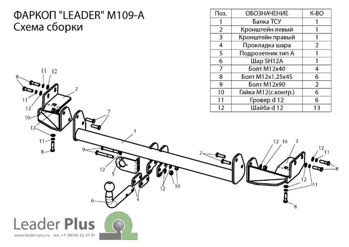 Лидер Плюс M109-A