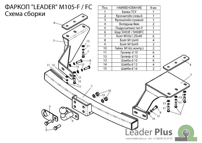 Лидер Плюс M105-F(N)