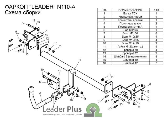 Лидер Плюс N110-A