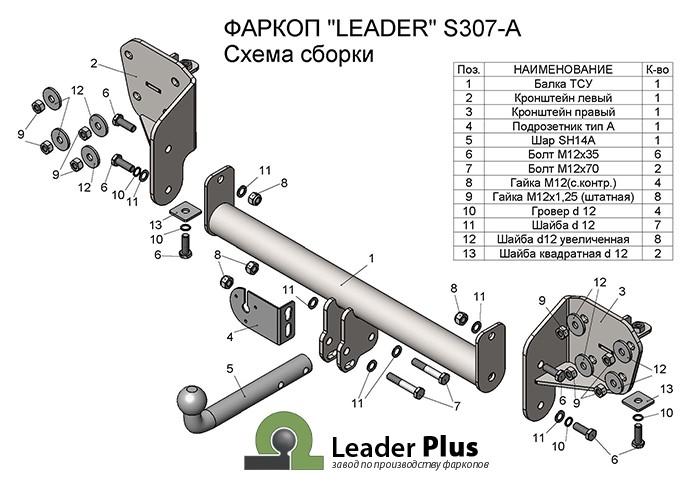 Лидер Плюс S307-A