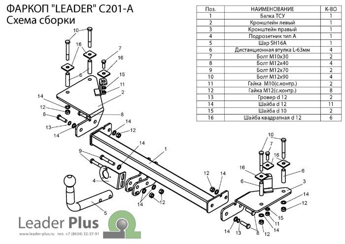 Лидер Плюс C201-A