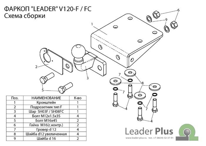 Лидер Плюс V120-F