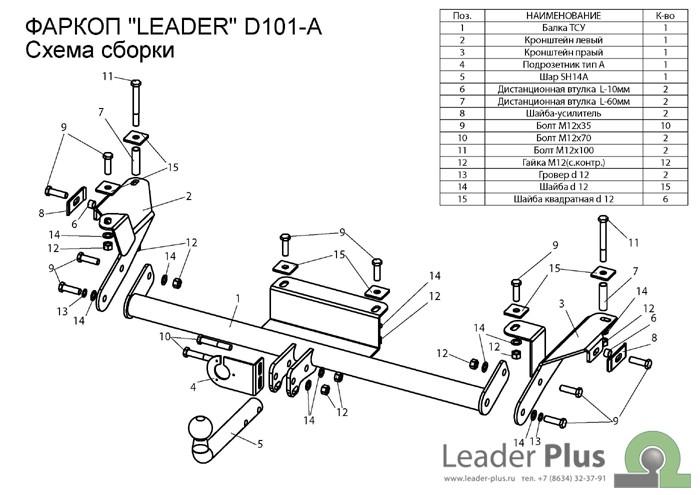 Лидер Плюс D101-A