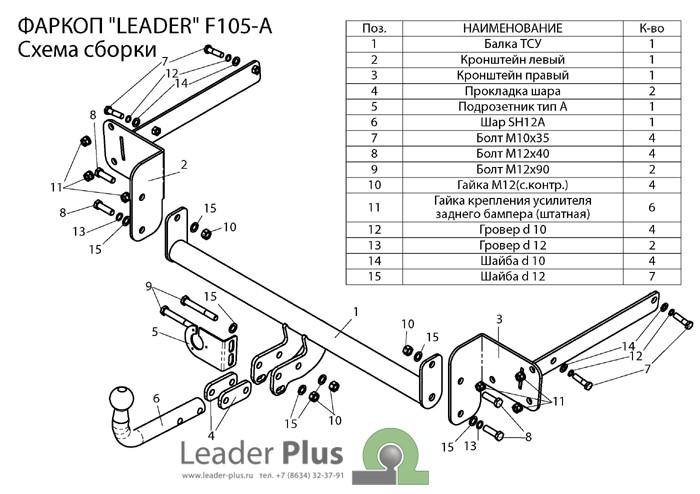 Лидер Плюс F105-A