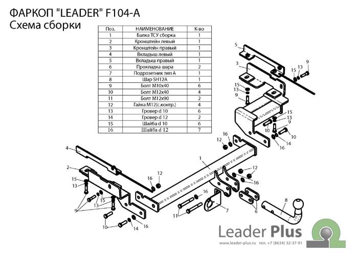 Лидер Плюс F104-A
