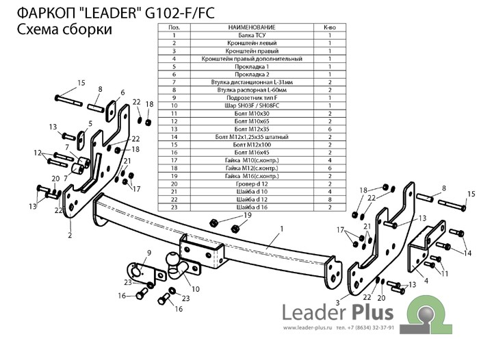 Лидер Плюс G102-F