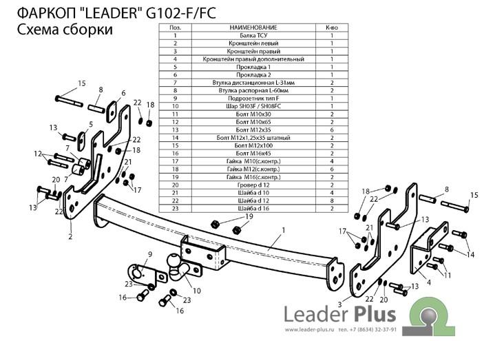 Лидер Плюс G102-FC