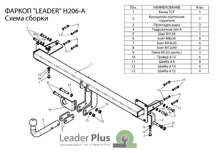 Лидер Плюс H206-A