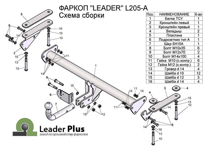 Лидер Плюс L205-A