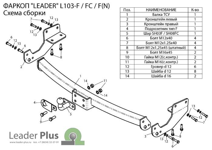 Лидер Плюс L103-F(N)