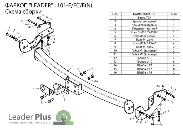 Лидер Плюс L101-F(N)
