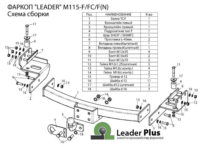 Лидер Плюс M115-F(N)