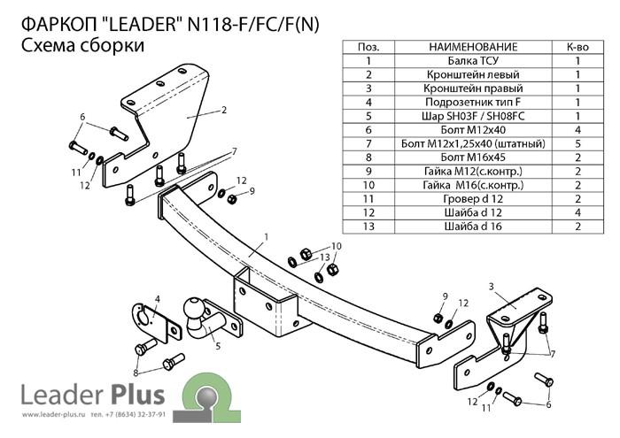 Лидер Плюс N118-F(N)