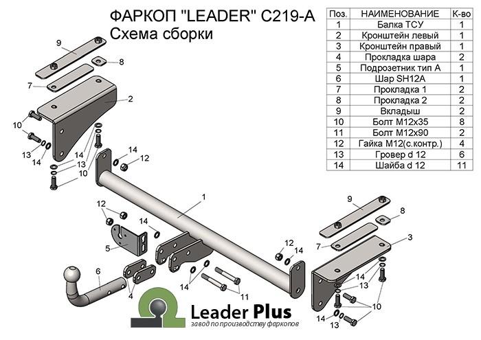 Лидер Плюс C219-A