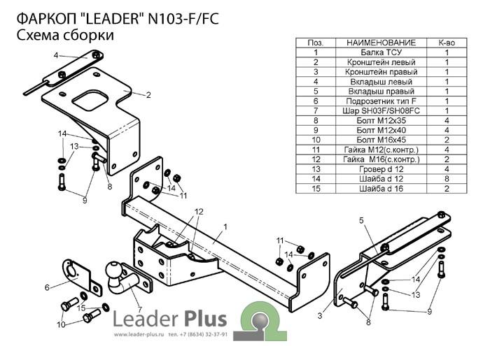 Лидер Плюс N103-FC