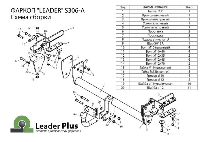 Лидер Плюс S306-A