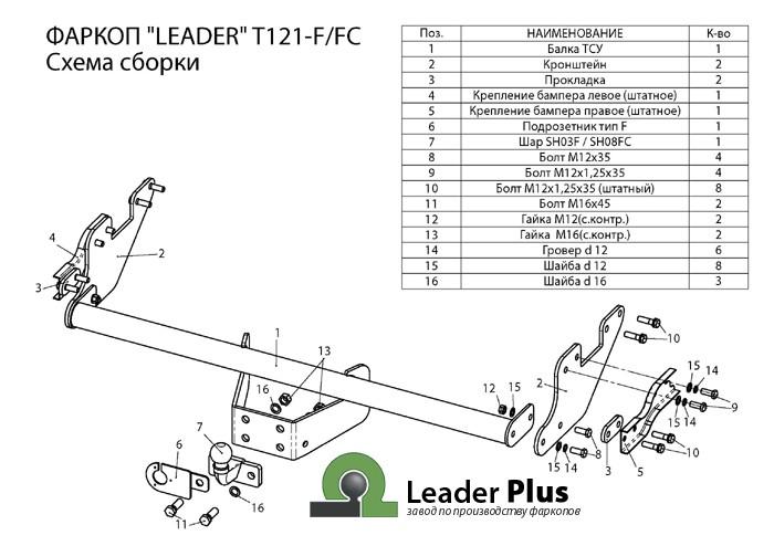 Лидер Плюс T121-FC