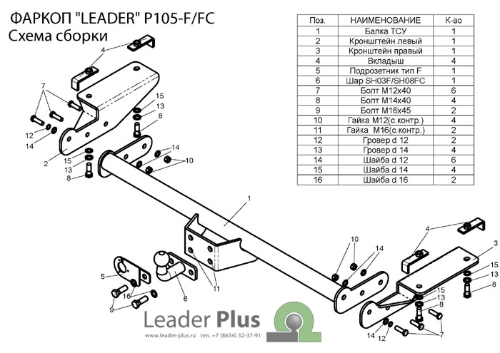 Лидер Плюс P105-FC