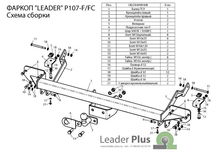 Лидер Плюс P107-F