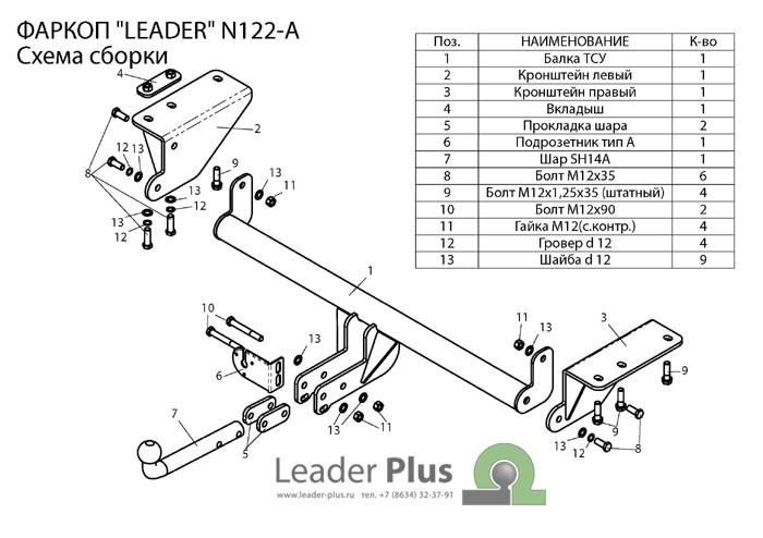Лидер Плюс N122-A