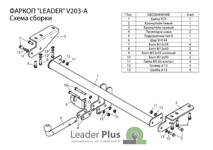 Лидер Плюс V203-A