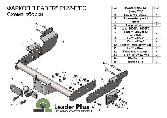 Лидер Плюс F122-FC