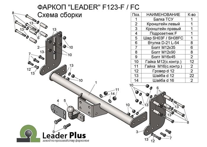 Лидер Плюс F123-FC