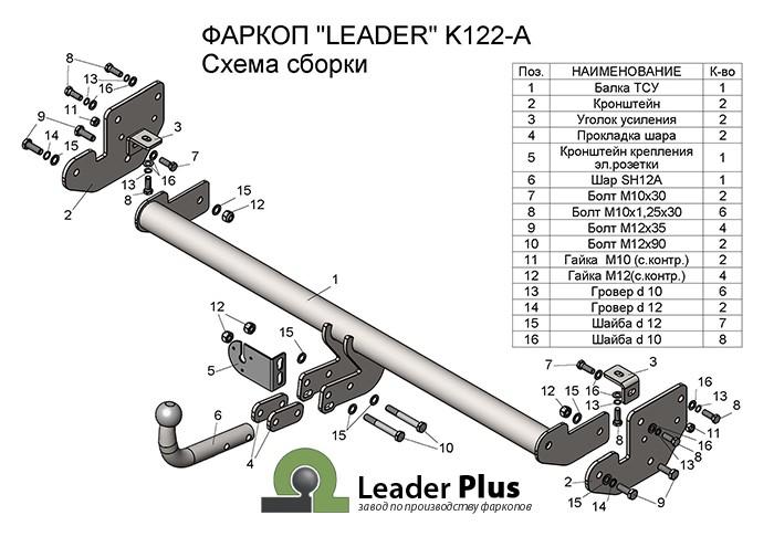 Лидер Плюс K122-A