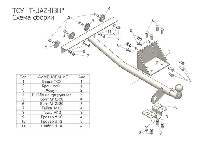 Лидер Плюс T-UAZ-03H