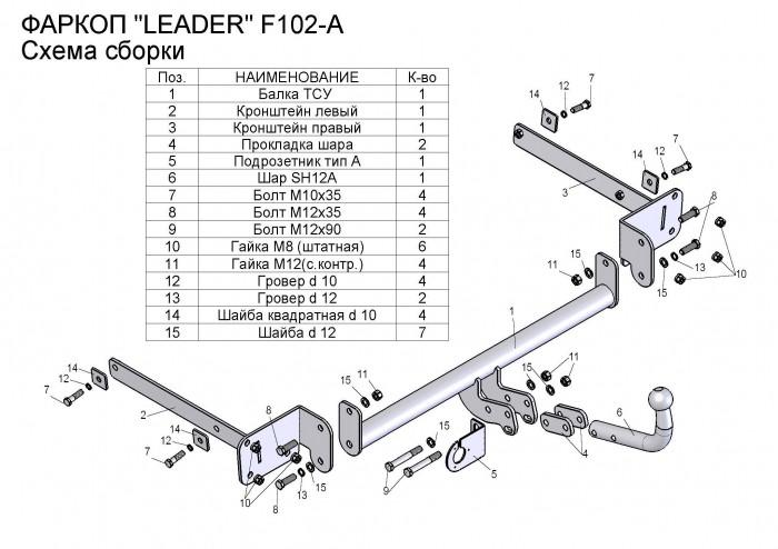 Лидер Плюс F102-A